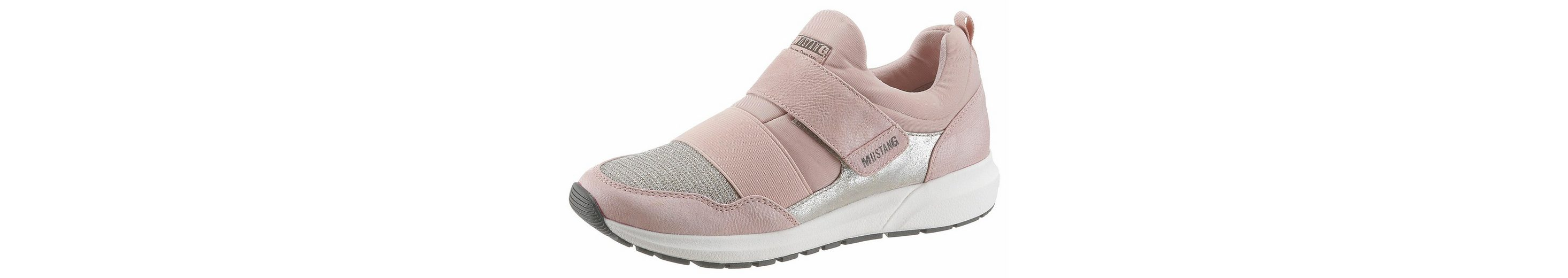 Mustang Shoes Slip-On Sneaker, mit Klettverschluss