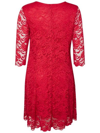 JUNAROSE Spitzen Kleid
