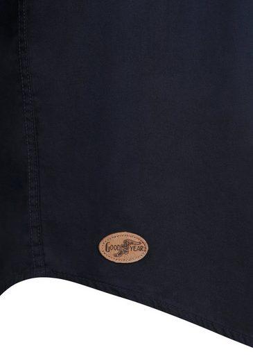 Goodyear Langarmhemd mit vielen Logo-Stickereien CHANDALAR