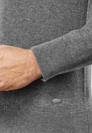 Vincenzo Boretti Pullover mit taillierter Passform