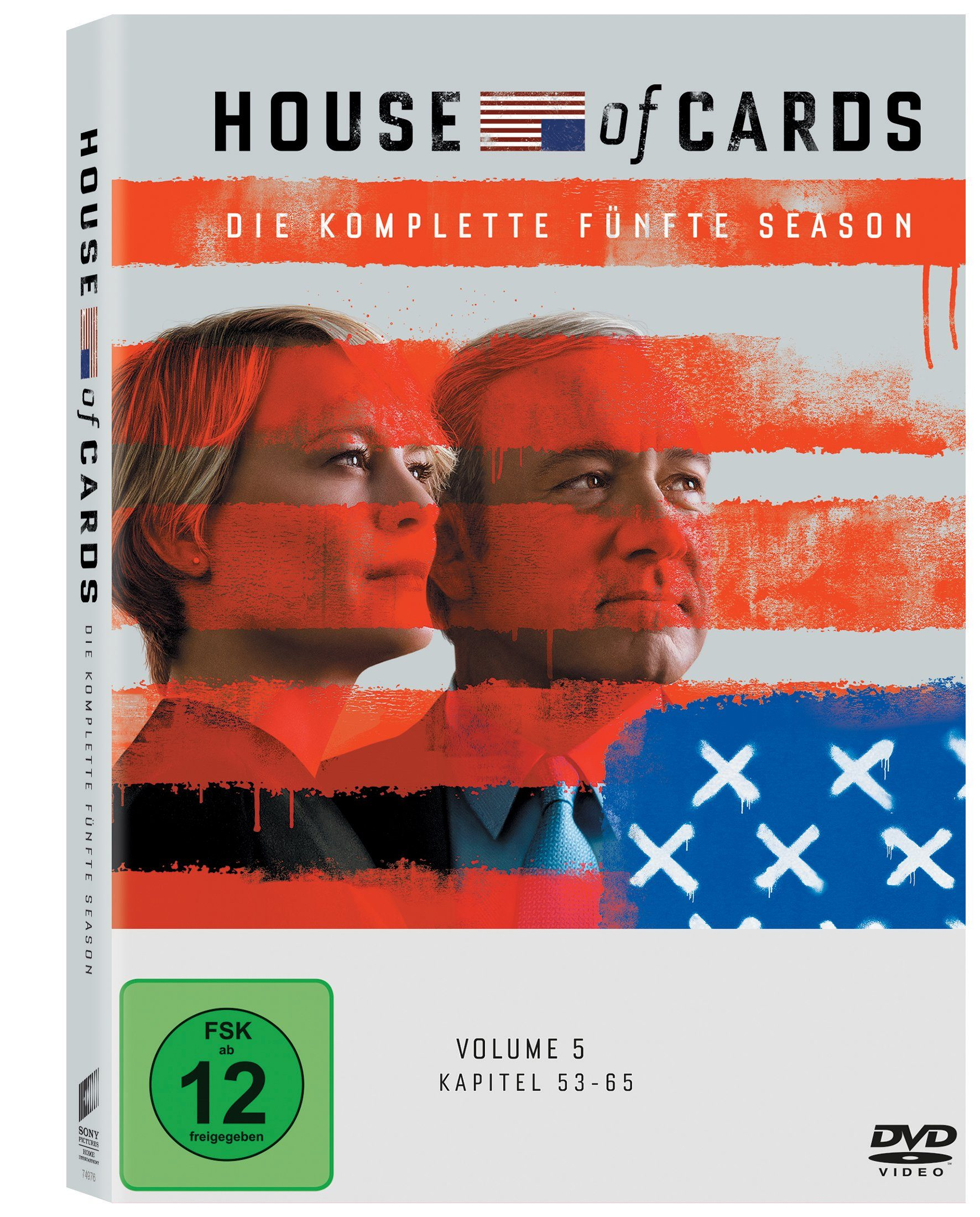 Sony Pictures DVD »House of Cards - Die komplette fünfte Season«