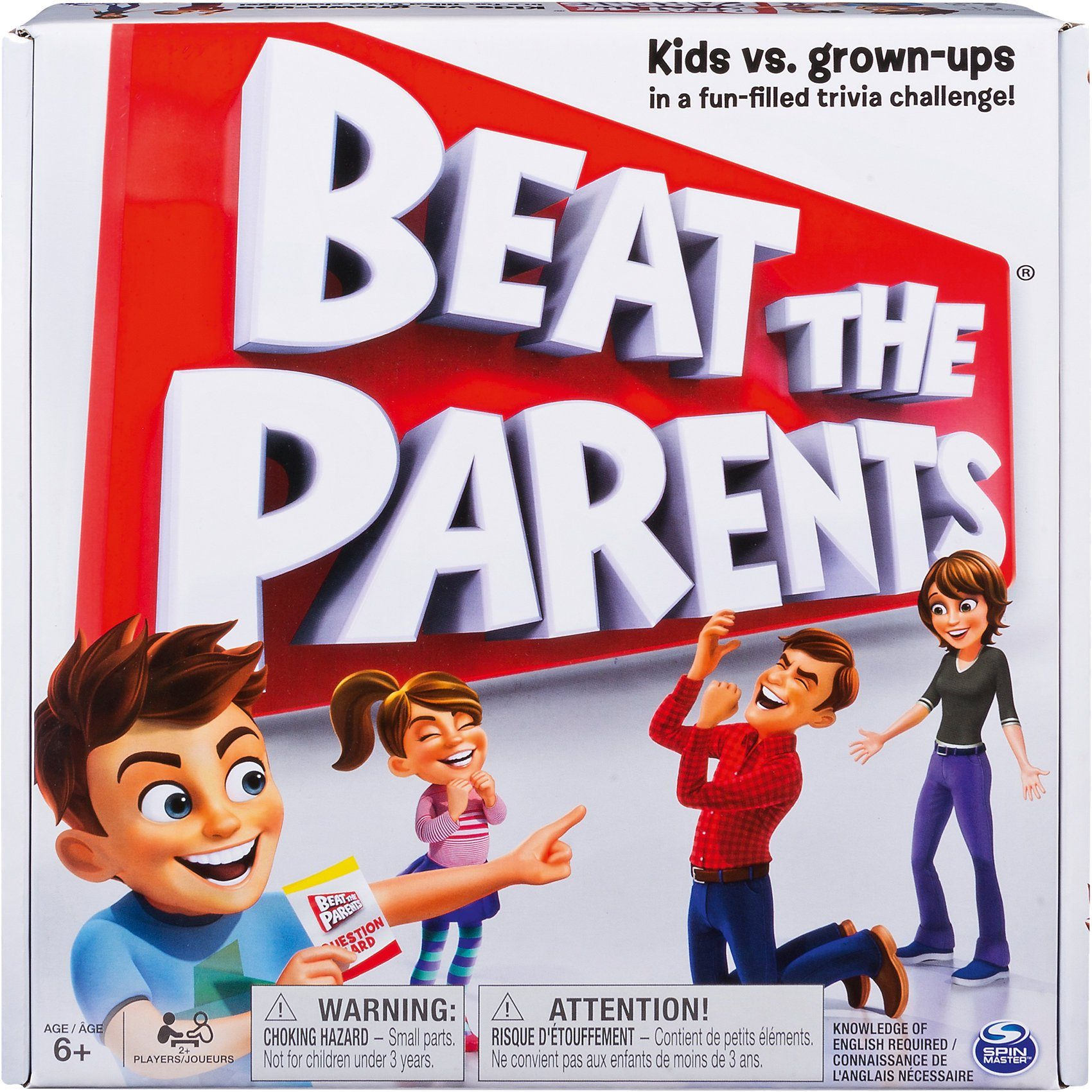 Spin Master Quizspiel Beat the Parents