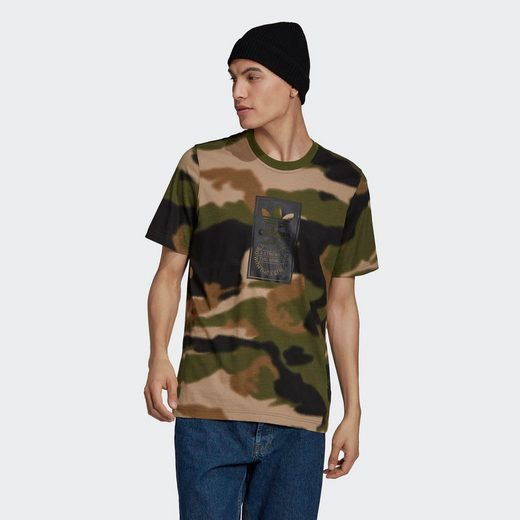 adidas Originals T-Shirt »CAMO AOP TONGUE«