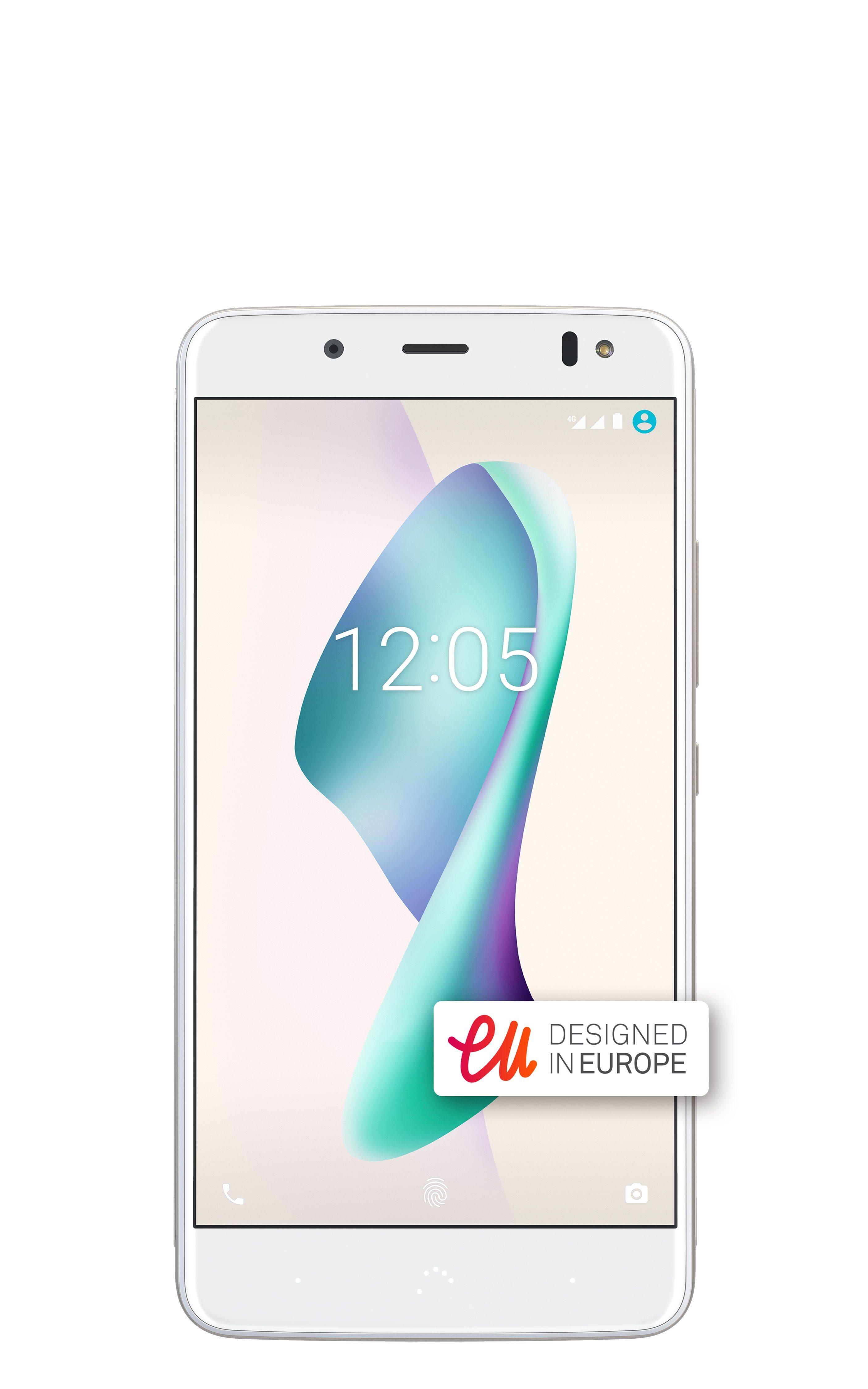 Smartphone, 5,5 Zoll Display, LTE & Android, 12 MP Kamera »Aquaris V Plus (32+3 GB)«