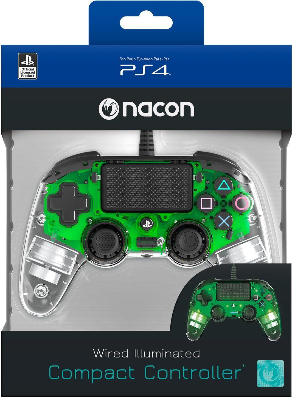 nacon Joypad PS4 Controller Light Edition Off. lizenziert/grün »PS4«
