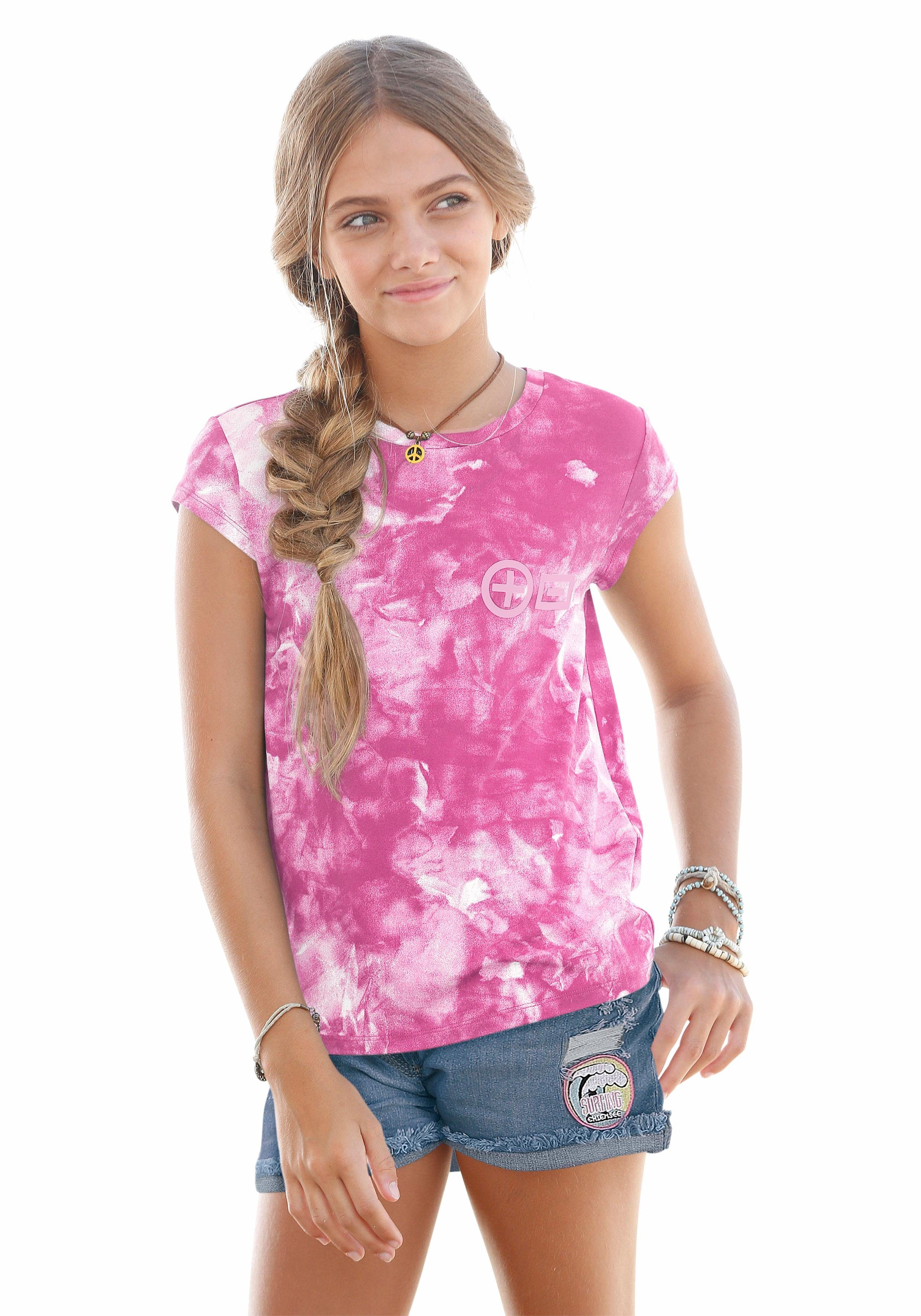 Chiemsee T-Shirt mit tollem Batikmuster