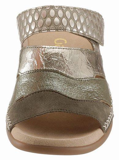 Gabor Pantolette, mit Metallic Effekt