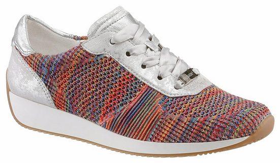 Sneaker Ara, Avec Des Lacets De Satin À La Mode