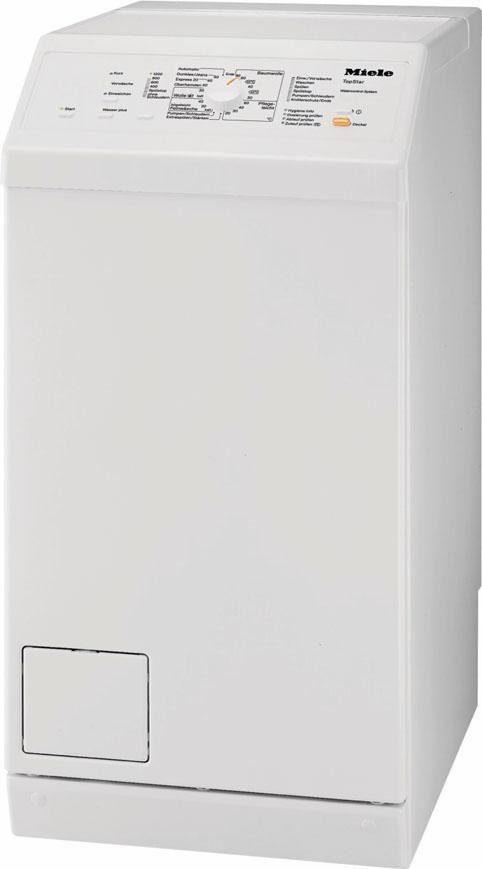MIELE Waschmaschine Toplader W 195 WCS Topstar, A+++, 6 kg, 1200 U/Min