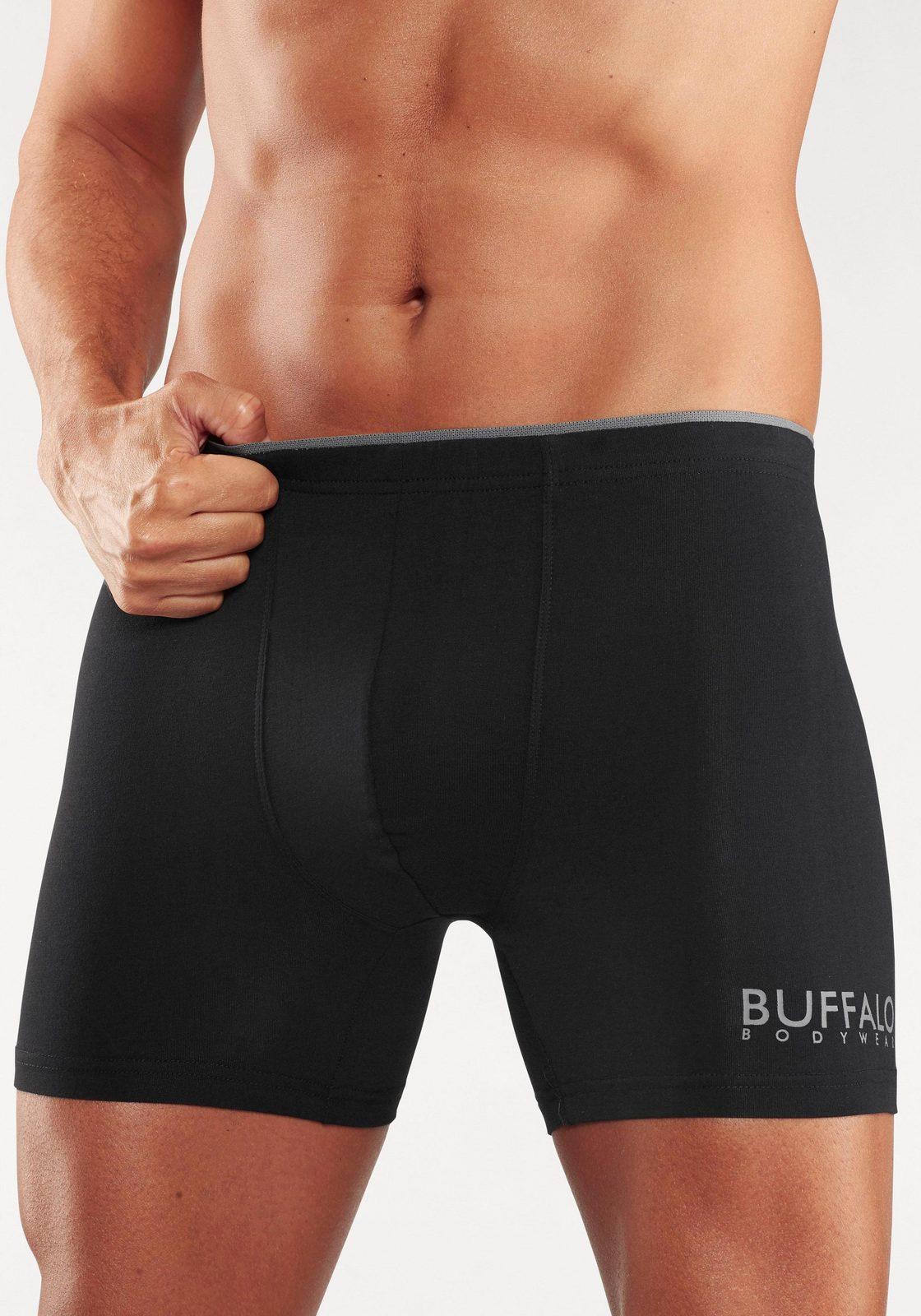 Buffalo Langer Boxer (3 Stück) - broschei