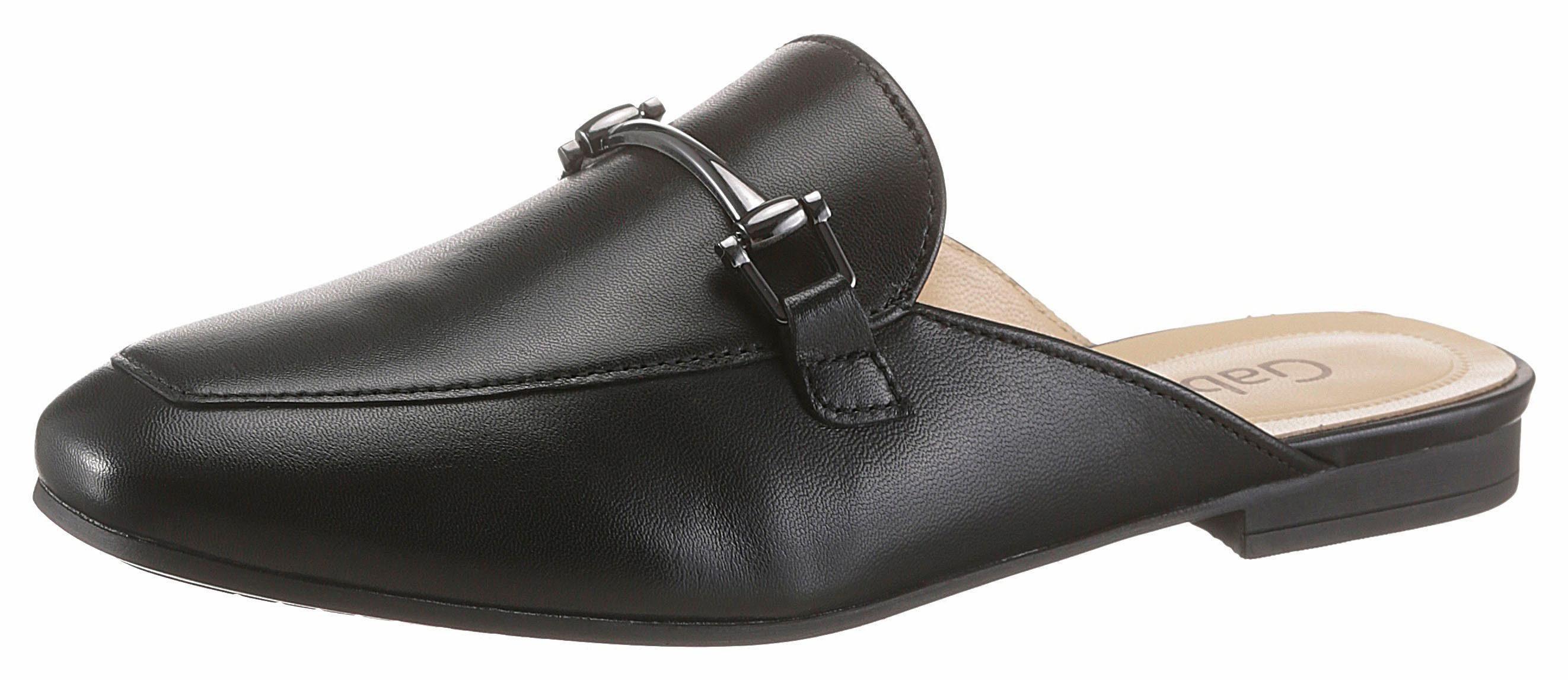 Gabor Clog, mit femininer Zierspange online kaufen  schwarz