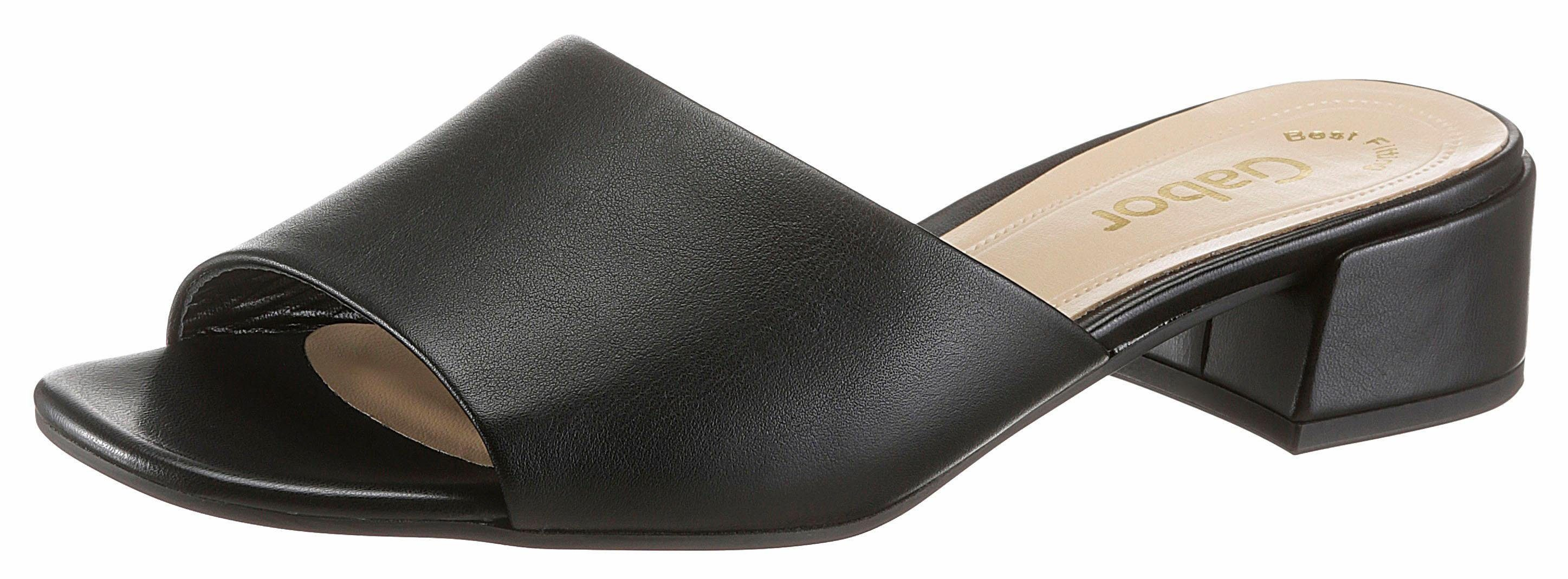 Gabor Pantolette, in klassichem Stil online kaufen  schwarz