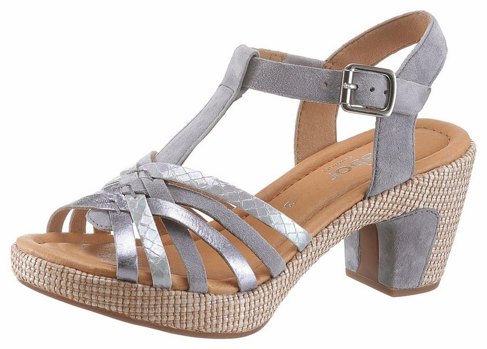 new arrive look out for innovative design Gabor Sandalette mit angesagter Reptilienprägung | OTTO
