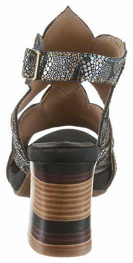 LAURA VITA Celeste Sandalette, im außergewöhnlichen Design