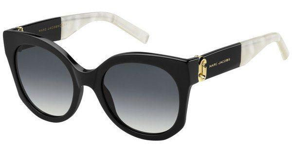 MARC JACOBS Marc Jacobs Damen Sonnenbrille » MARC 247/S«, schwarz, NS8/HA - schwarz/braun