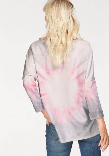 gwynedds Sweatshirt Milo the Sweat, mit metalicfarbenen Print
