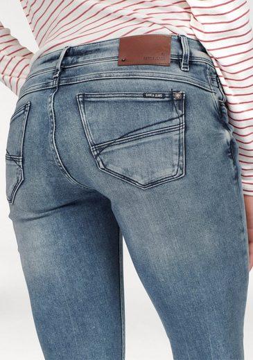 Garcia Slim-fit-Jeans Riva Slim, mit Used-Effekten