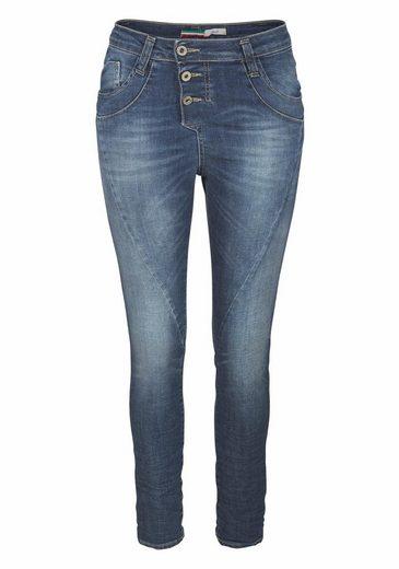 Please Jeans Boyfriend-Jeans P78A, in Crinkleoptik