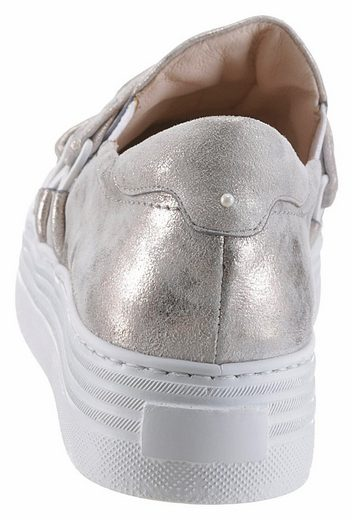 Arizona Slipper, im Metallic-Look