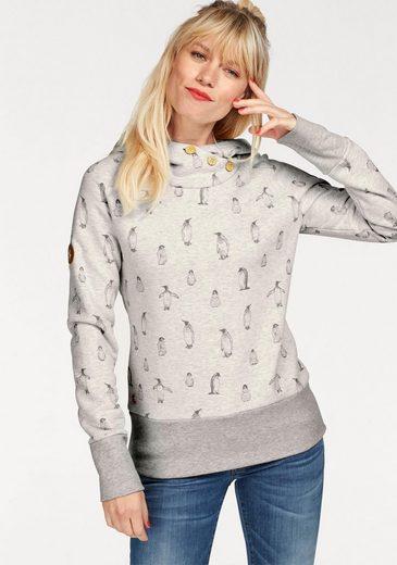 MAZINE Kapuzensweatshirt Leonora, mit Allover Print