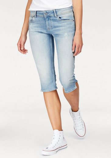 Pepe Jeans Capri Jeans Saturn Crop, With A Small Slot-