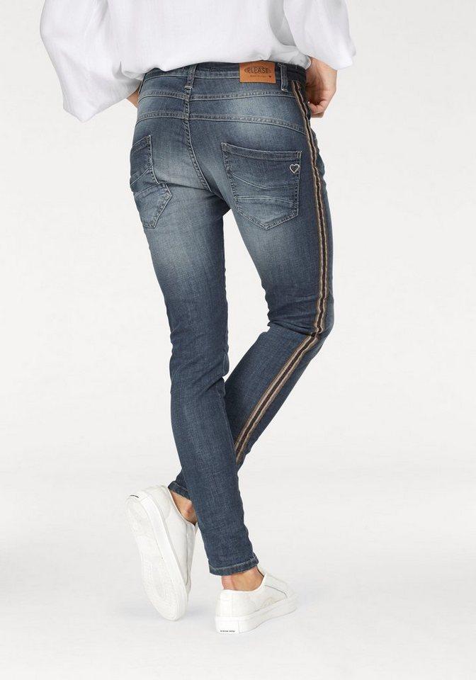 Please Jeans Boyfriend-Jeans »P38R« mit seitlichem Tape online ... c0bea58872