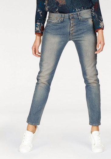 Please Jeans Boyfriend-Jeans »P87T« mit vorverlegter Seitennaht