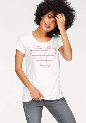 Bench T-Shirt BLWG002642, mit gummierten Frontprint