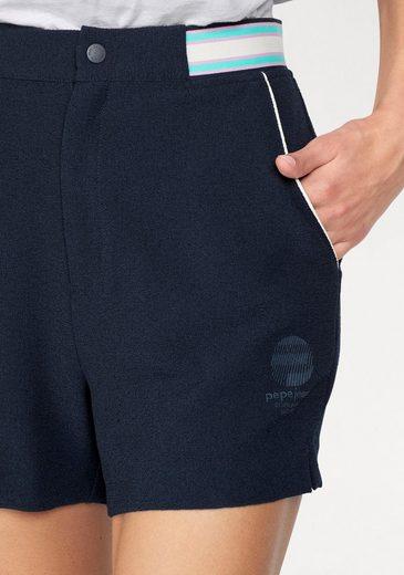 Pepe Jeans Sporthose KELIS, mit gestreiftem Gummibund