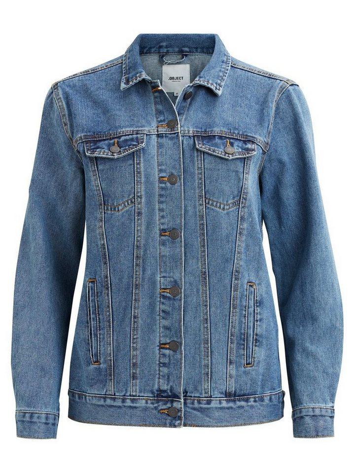 Lange jeansjack