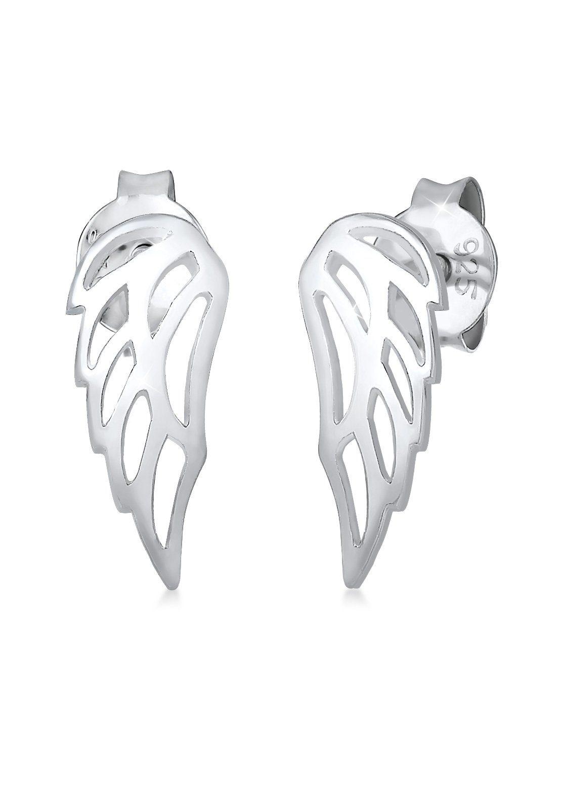 Elli Ohrringe »Flügel Wing Himmel Schutzsymbol Basic 925 Silber«