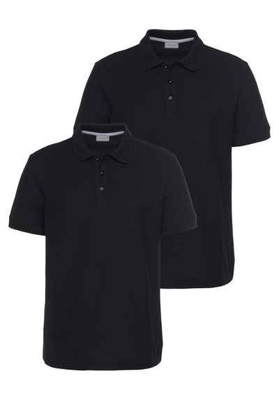 Eastwind Poloshirt »Double Pack Polo, navy+white« (2er-Pack)