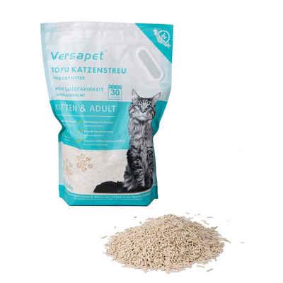 Versapet Katzenstreu »Tofu Katzenstreu Cat Litter Klumpstreu Staubfrei Naturstreu, 6 Liter«