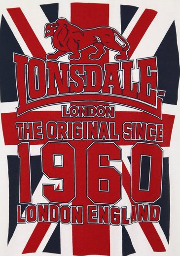 Lonsdale T-Shirt in Regular Fit Passform BUXTON