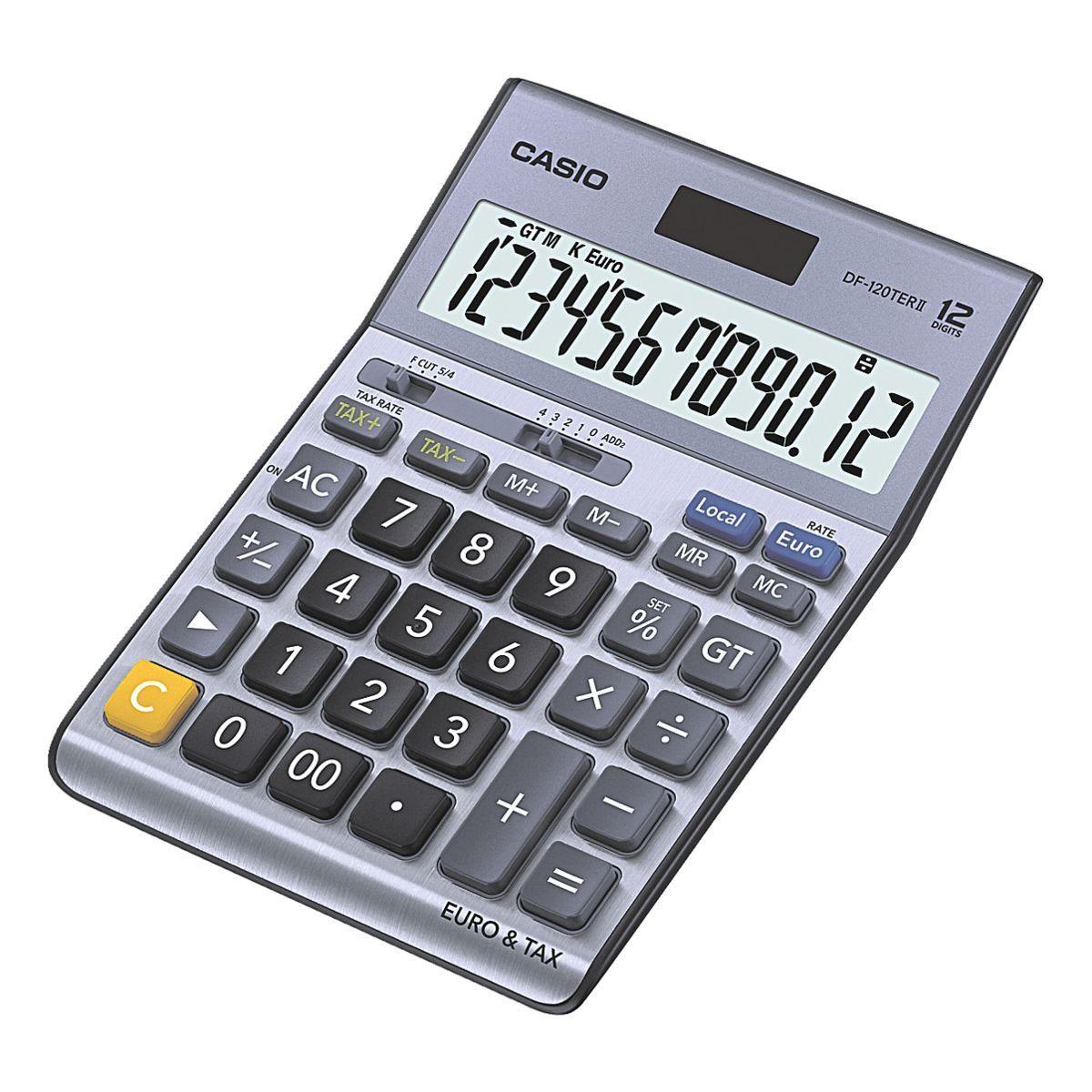 CASIO Tischrechner »DF-120TERII«