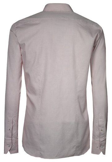 Signum Fine Long Sleeved Shirt With Small Pattern