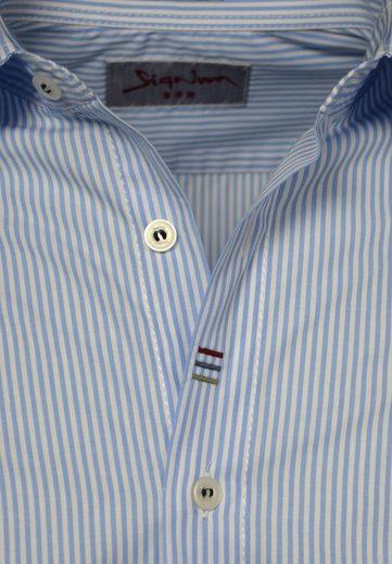 Signum Must Have! Streifenhemd mit Badges