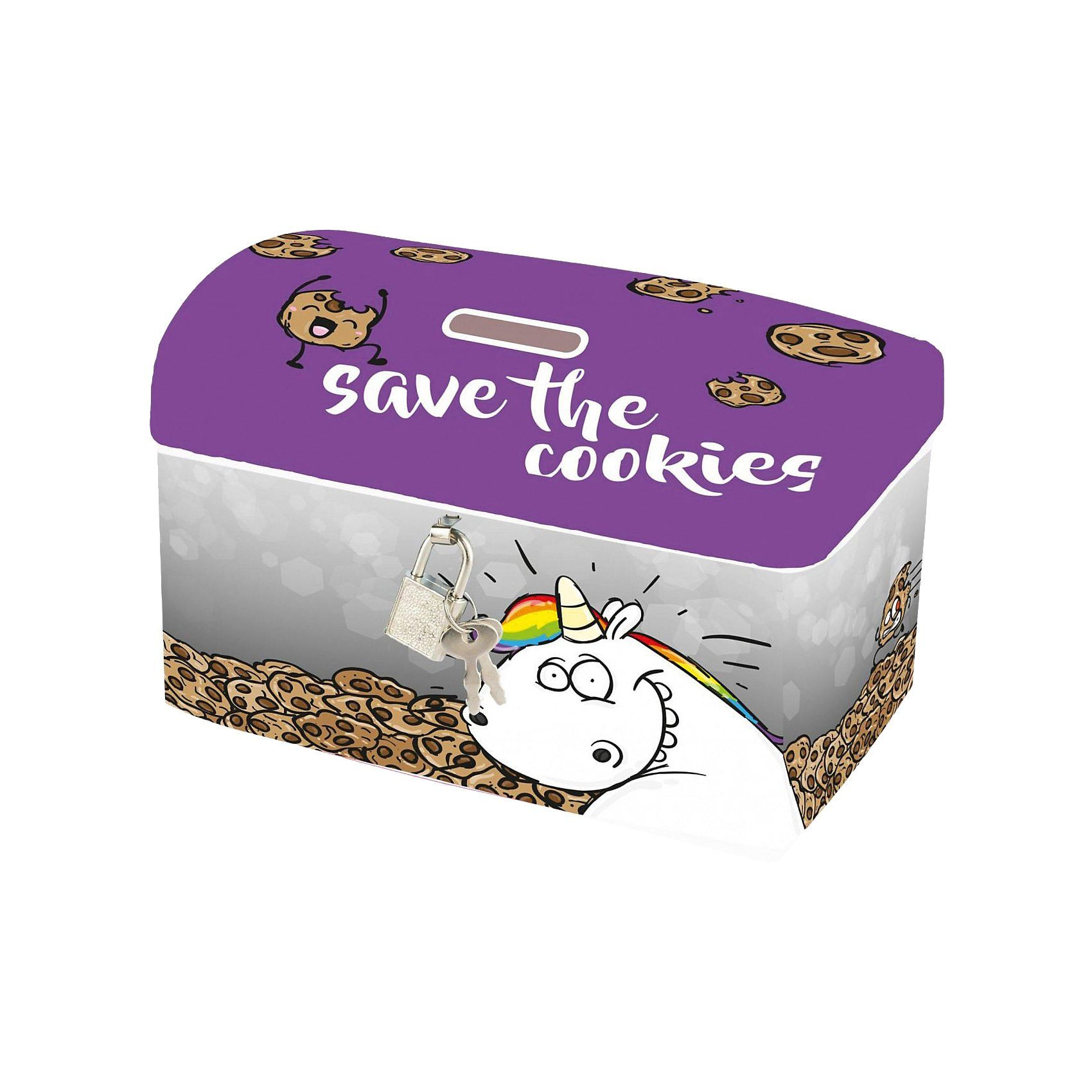 United Labels® Spardose Pummeleinhorn Save the cookies