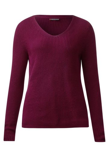Street One Basic V-Neck Pullover