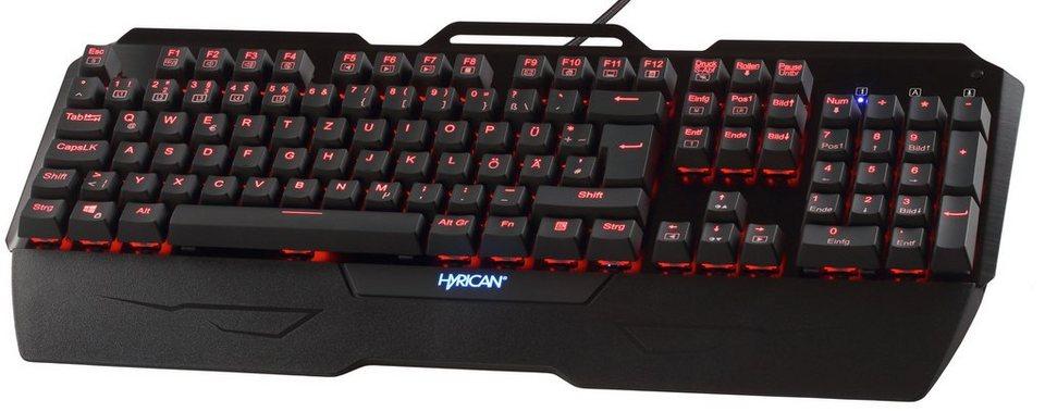 hyrican mechanische usb gaming tastatur st mk29 mit rgb. Black Bedroom Furniture Sets. Home Design Ideas