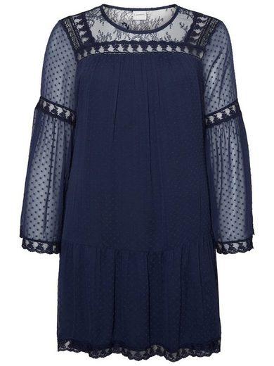 JUNAROSE Webstoff Kleid