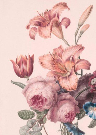 WOHNIDEE-KOLLEKTION Fototapete »Soft Blush Blüten«, 200cm x 280cm