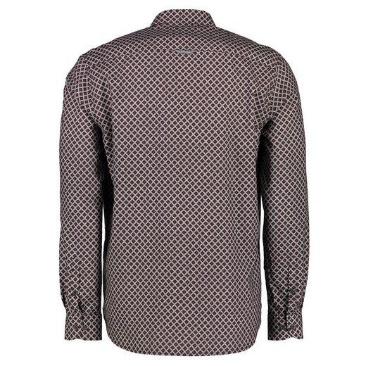 LERROS Langarmhemd mit modischem Alloverprint