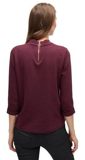 Tom Tailor Denim Sweatshirt Sweatshirt Mit Ottoman-struktur