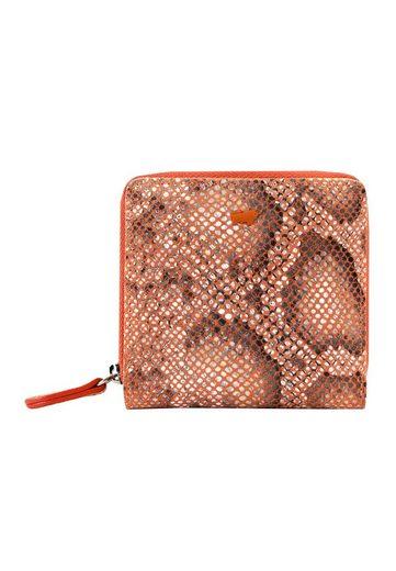 Braun Büffel Geldbörse »MIRA«, mit Reptilien-Prägung