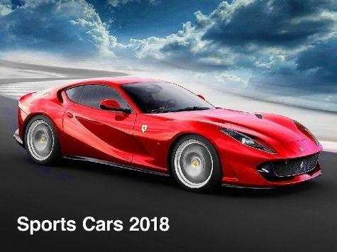 Kalender »Sports Cars 2018«