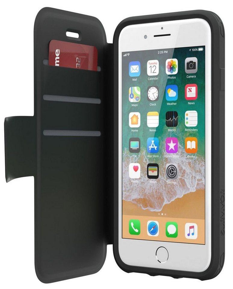 griffin handytasche survivor case strong wallet iphone 7. Black Bedroom Furniture Sets. Home Design Ideas
