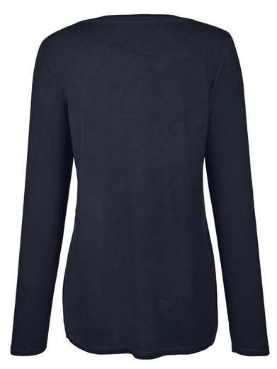 Alba Moda Shirt mit floralem Druck