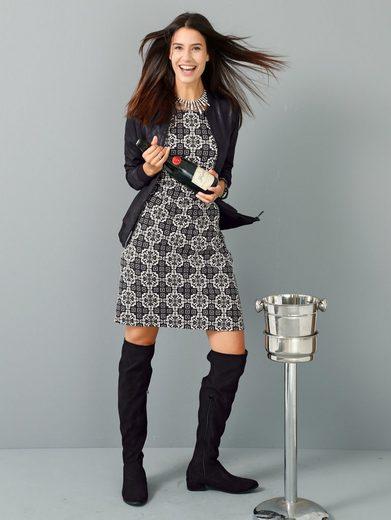 Laura Kent Kleid mit grafischem Druck