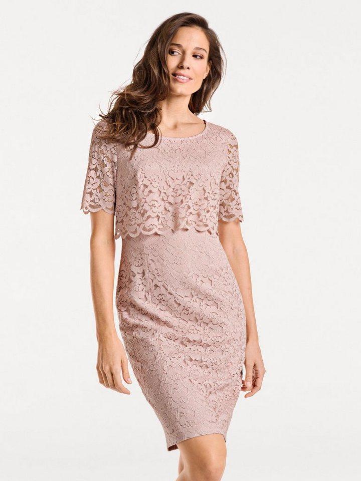 297cf411fe9f3d heine TIMELESS Kleid aus Spitze online kaufen | OTTO